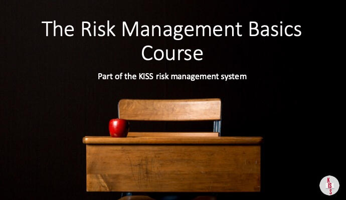 The online Risk Management Basics Course gives you everything you need to get started in risk management
